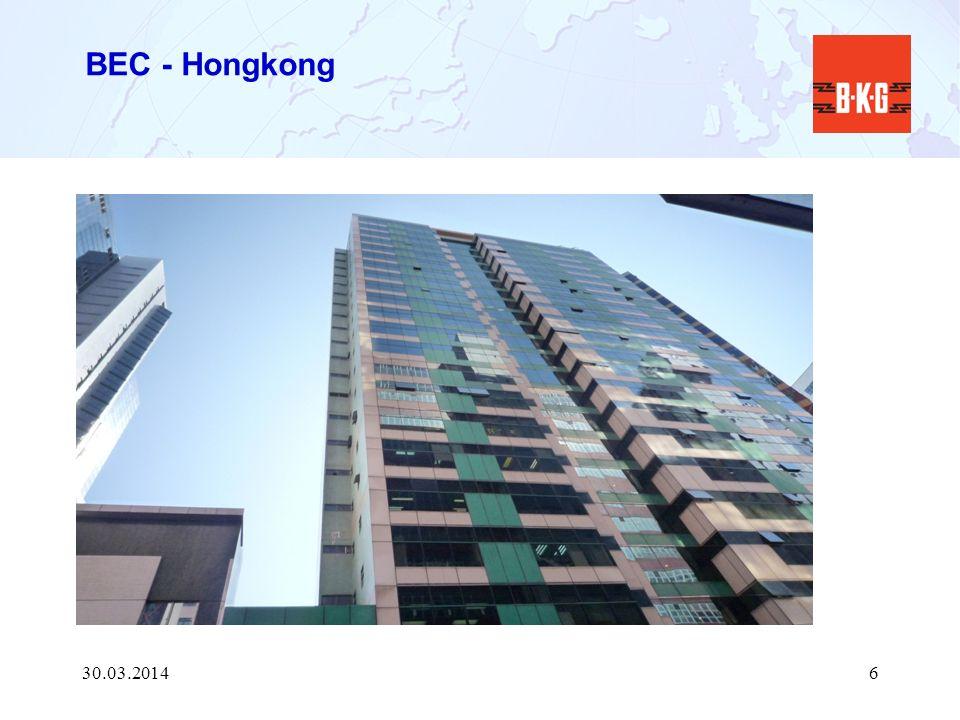 BEC - Hongkong 30.03.20146