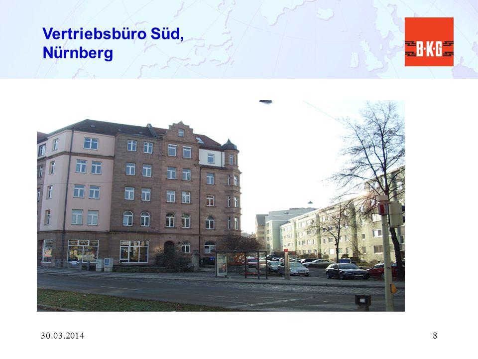 Vertriebsbüro Süd, Nürnberg 30.03.20148