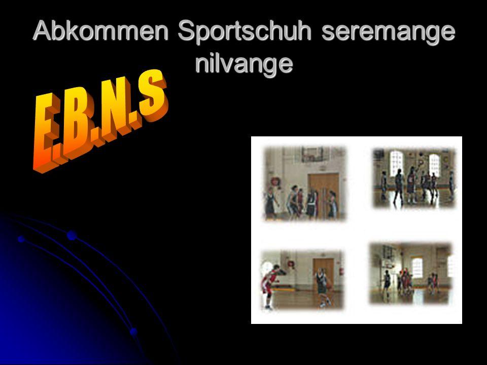 Abkommen Sportschuh seremange nilvange