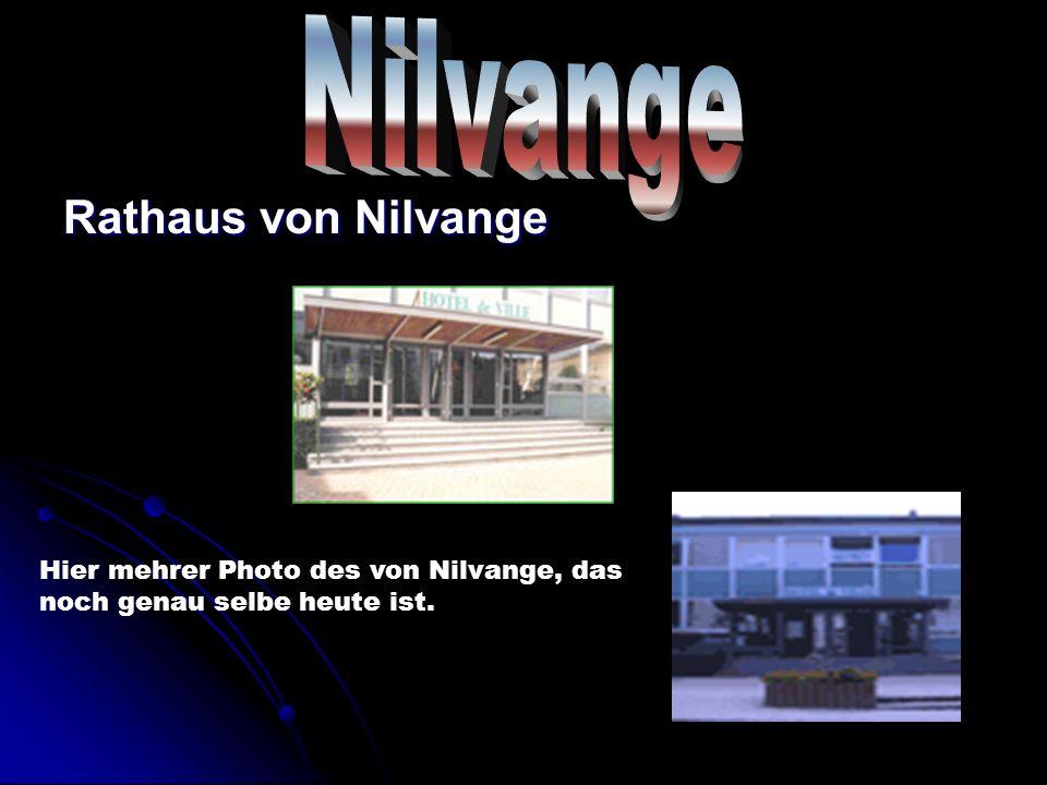Rathaus von Nilvange Hier mehrer Photo des von Nilvange, das noch genau selbe heute ist.