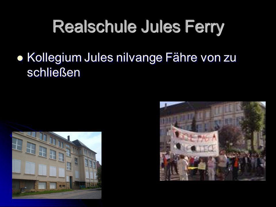 Realschule Jules Ferry Kollegium Jules nilvange Fähre von zu schließen Kollegium Jules nilvange Fähre von zu schließen