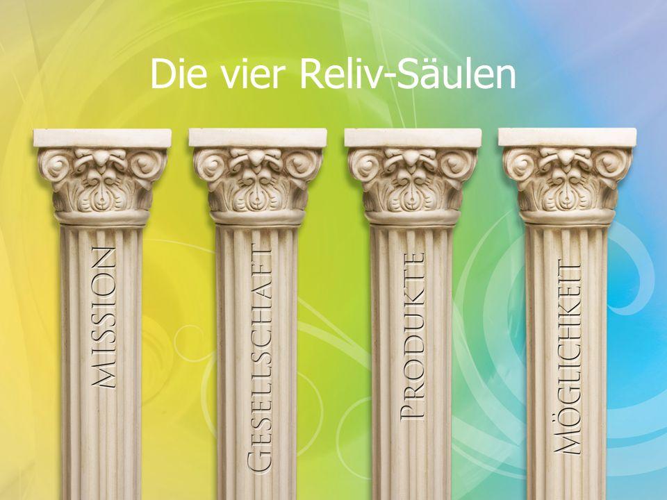 Die vier Reliv-Säulen