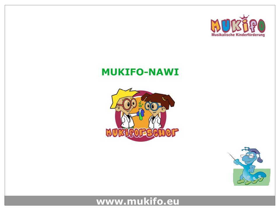 www.mukifo.eu Am Ende der Seminar Reihe erhält jedes teilnehmende Kind ein Zertifikat, das es als MUKIFORSCHER ausweist