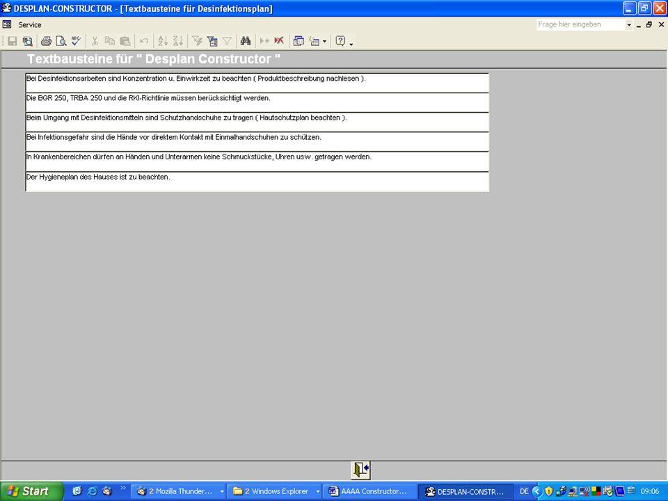 www.hygieneplan.de 109 Einführung in die CD-ROM Senio-QM forte