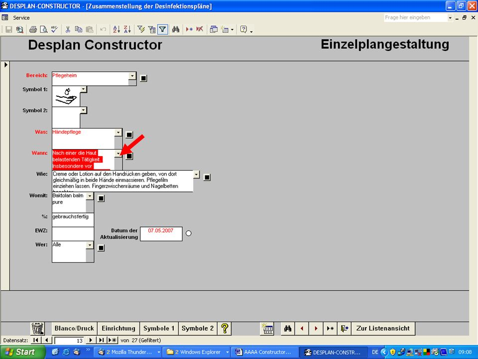 www.hygieneplan.de 110 Einführung in die CD-ROM Senio-QM forte