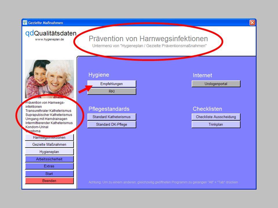 www.hygieneplan.de 15 Einführung in die CD-ROM Senio-QM forte