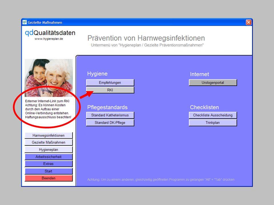 www.hygieneplan.de 17 Einführung in die CD-ROM Senio-QM forte