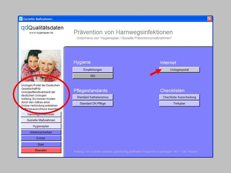 www.hygieneplan.de 19 Einführung in die CD-ROM Senio-QM forte