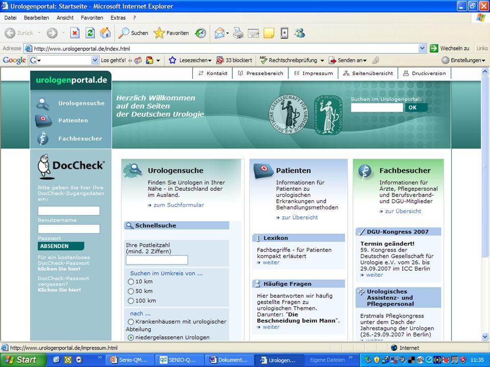 www.hygieneplan.de 20 Einführung in die CD-ROM Senio-QM forte