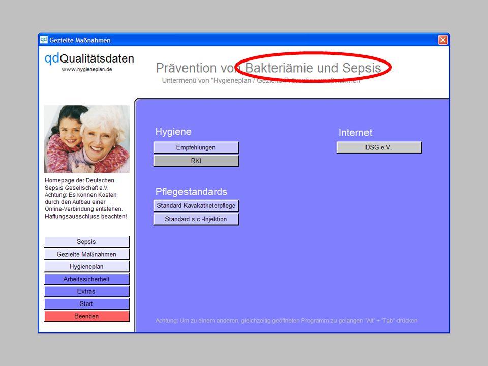 www.hygieneplan.de 25 Einführung in die CD-ROM Senio-QM forte