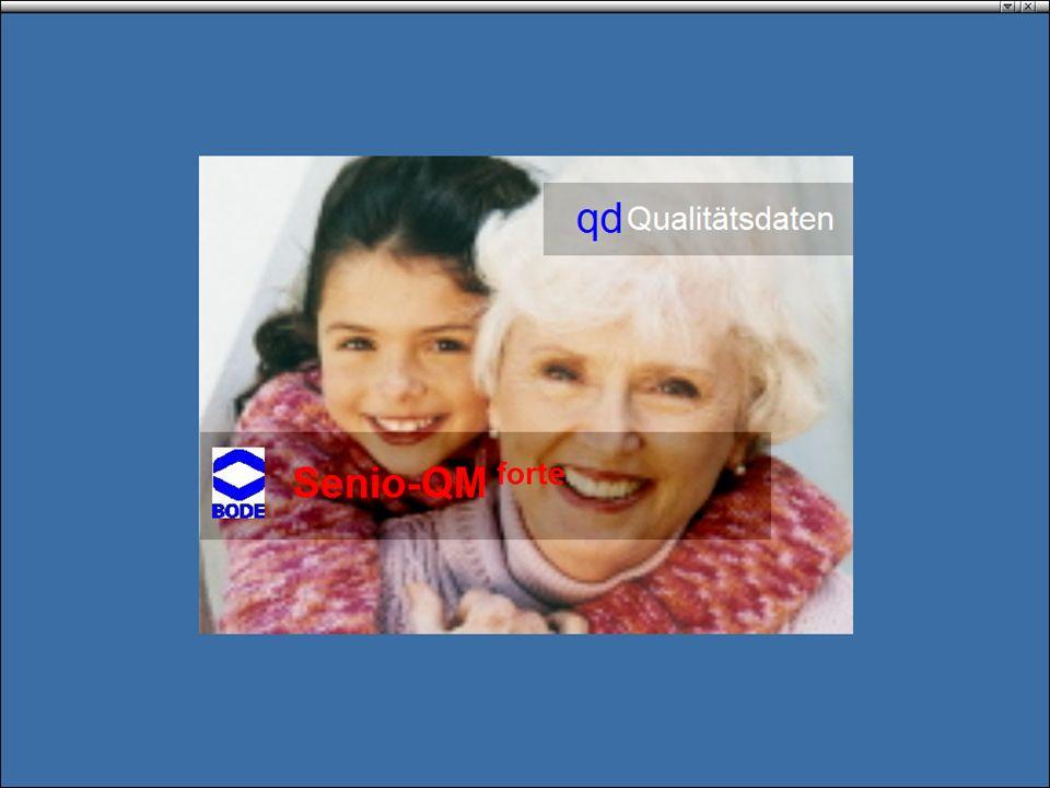 www.hygieneplan.de 4 Einführung in die CD-ROM Senio-QM forte Benutzeroberfläche 1 4 3 2