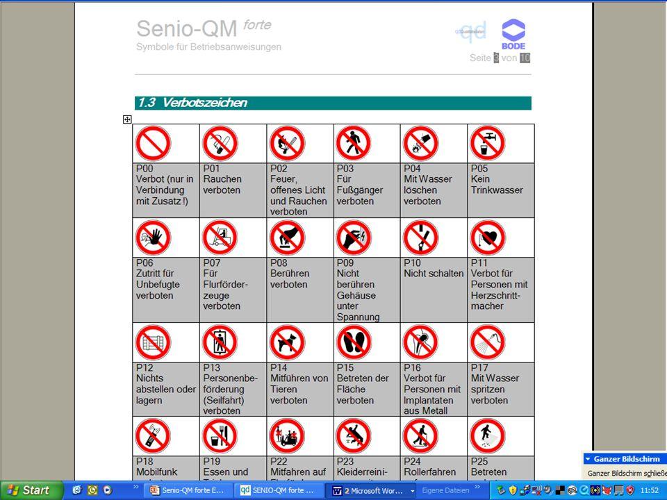 www.hygieneplan.de 44 Einführung in die CD-ROM Senio-QM forte