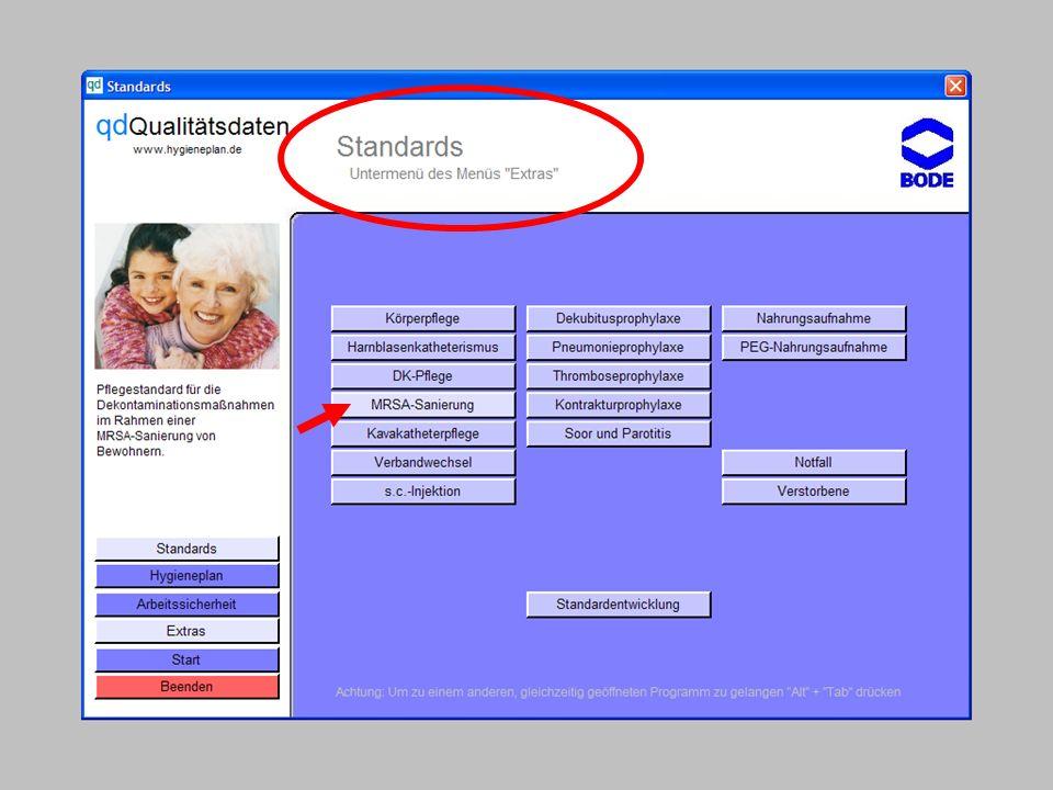 www.hygieneplan.de 51 Einführung in die CD-ROM Senio-QM forte