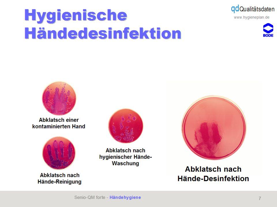 www.hygieneplan.de 56 Einführung in die CD-ROM Senio-QM forte