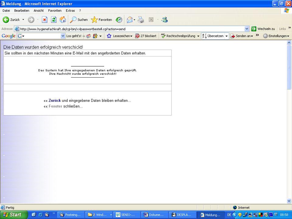 www.hygieneplan.de 69 Einführung in die CD-ROM Senio-QM forte