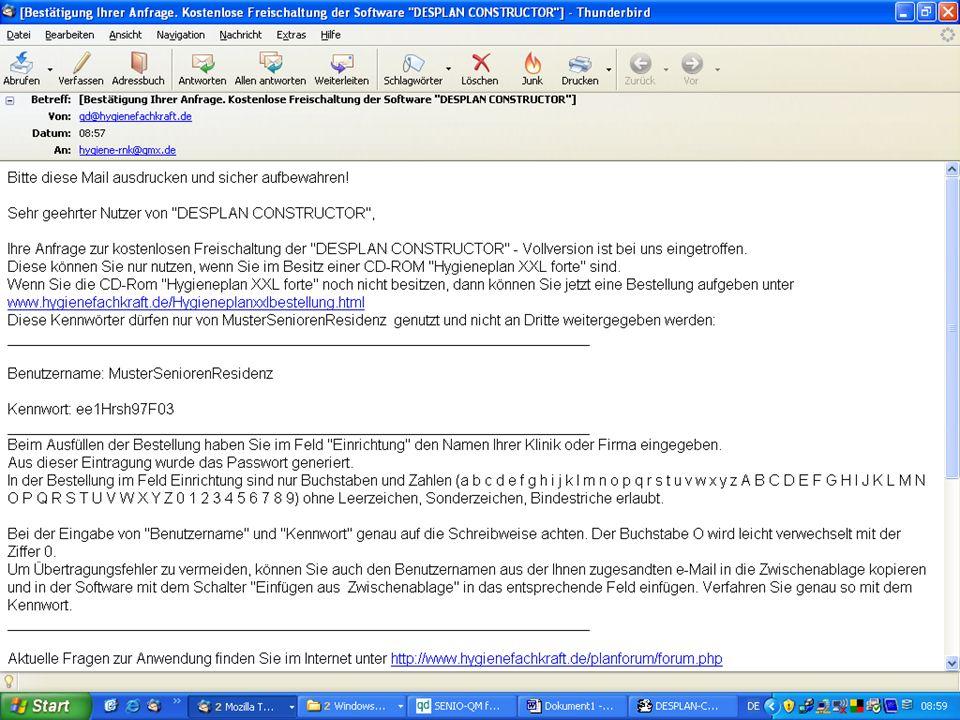 www.hygieneplan.de 70 Einführung in die CD-ROM Senio-QM forte