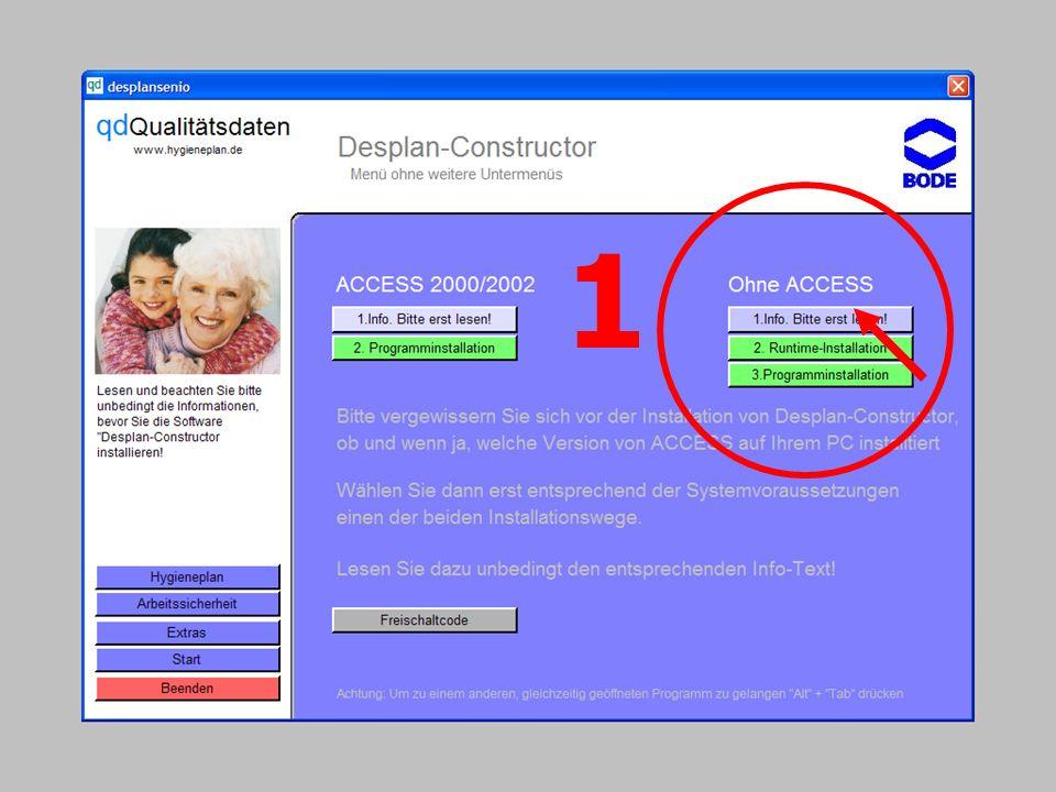 www.hygieneplan.de 74 Einführung in die CD-ROM Senio-QM forte 1