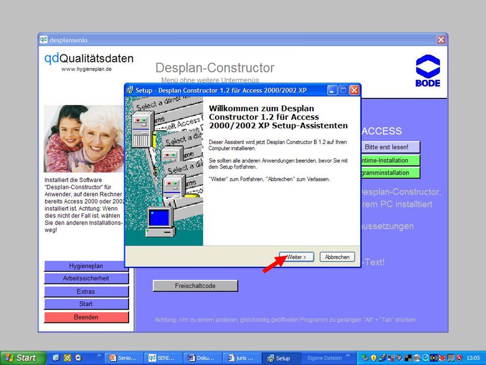 www.hygieneplan.de 79 Einführung in die CD-ROM Senio-QM forte