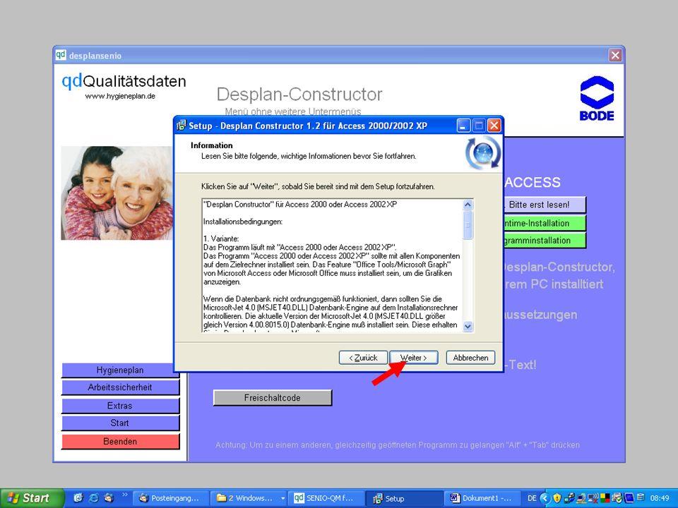 www.hygieneplan.de 81 Einführung in die CD-ROM Senio-QM forte