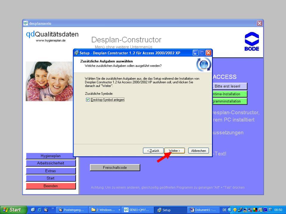 www.hygieneplan.de 82 Einführung in die CD-ROM Senio-QM forte