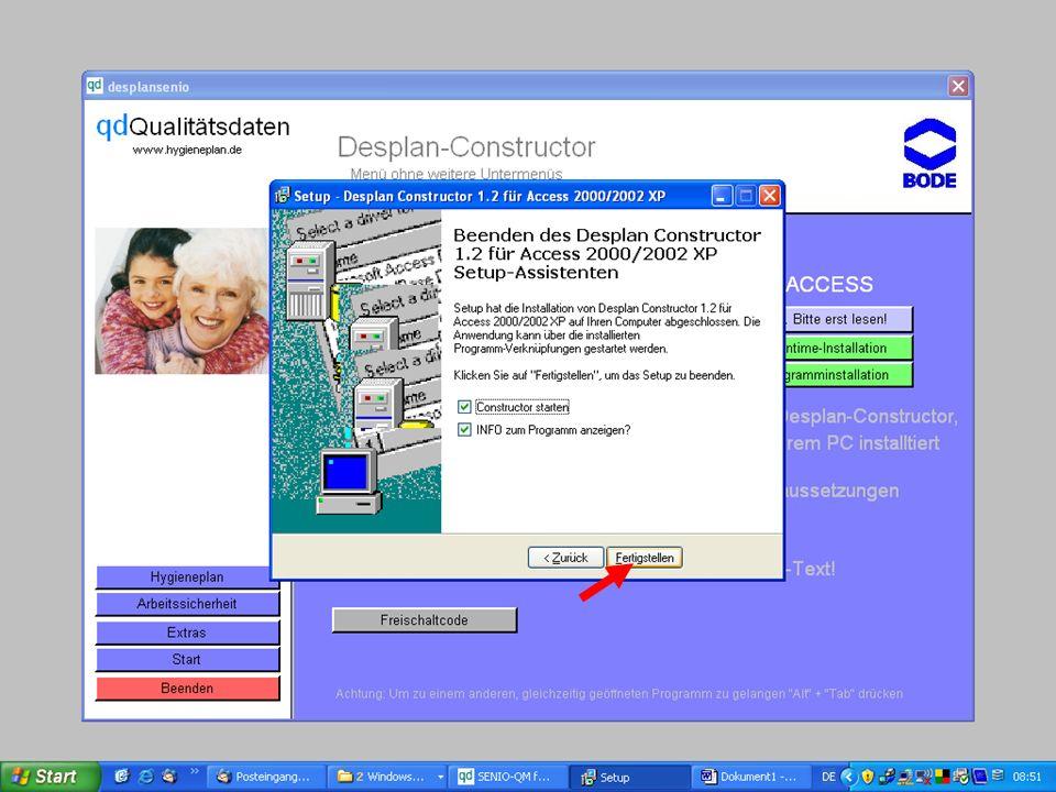 www.hygieneplan.de 86 Einführung in die CD-ROM Senio-QM forte