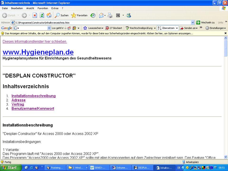 www.hygieneplan.de 87 Einführung in die CD-ROM Senio-QM forte