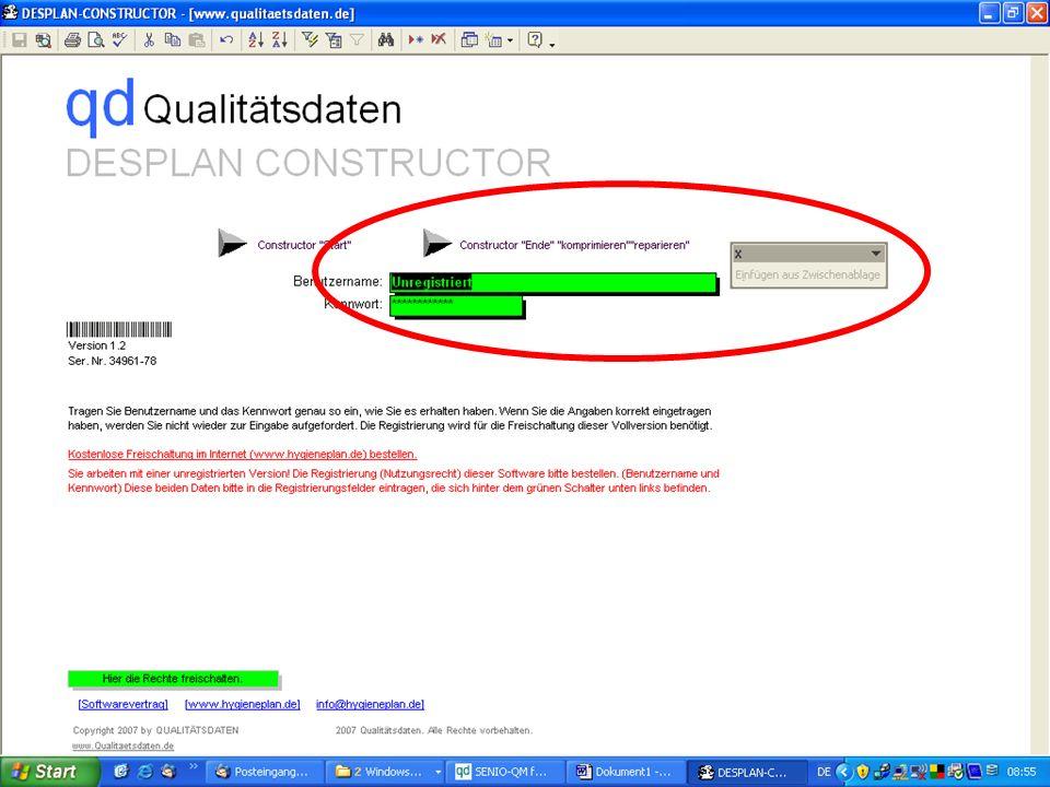 www.hygieneplan.de 89 Einführung in die CD-ROM Senio-QM forte