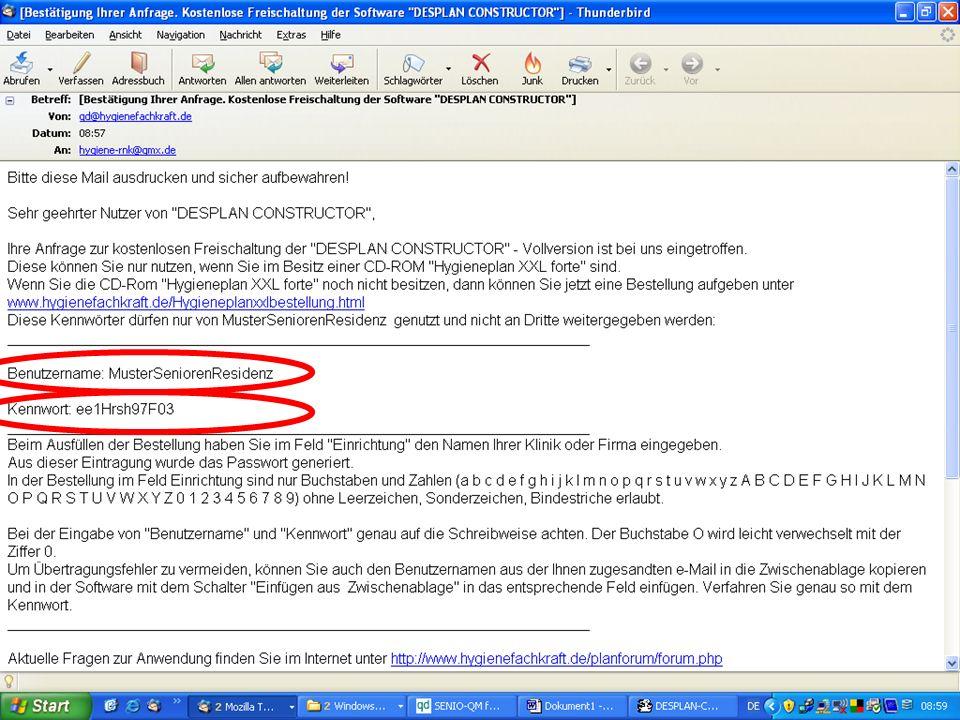 www.hygieneplan.de 90 Einführung in die CD-ROM Senio-QM forte