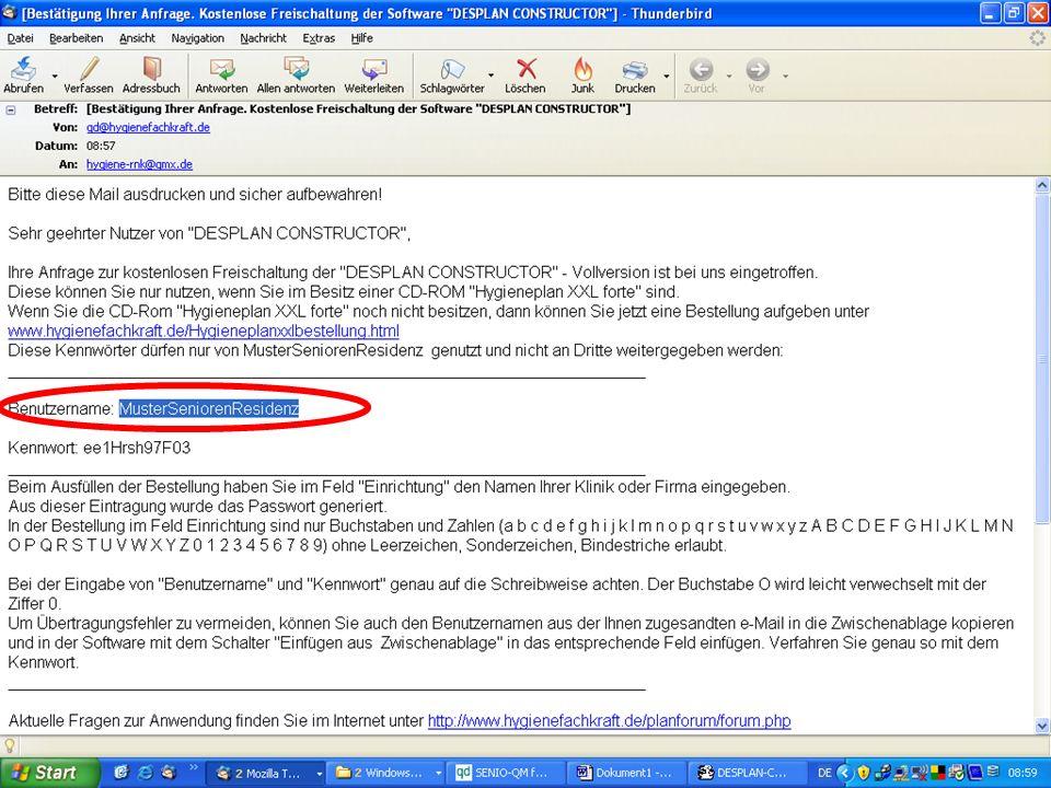 www.hygieneplan.de 91 Einführung in die CD-ROM Senio-QM forte