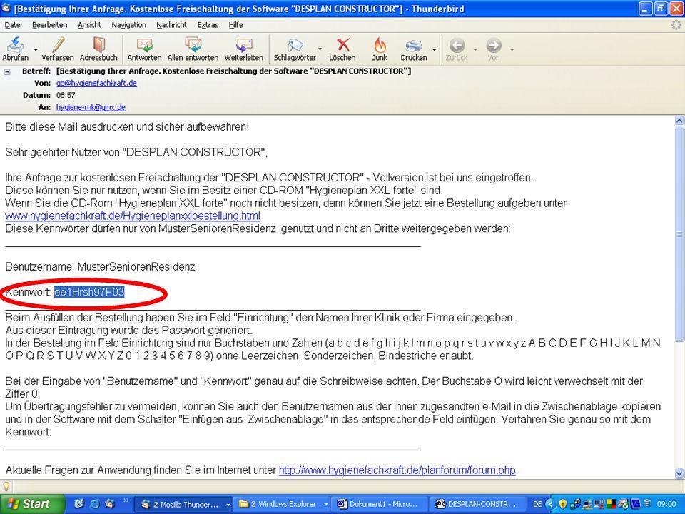 www.hygieneplan.de 93 Einführung in die CD-ROM Senio-QM forte