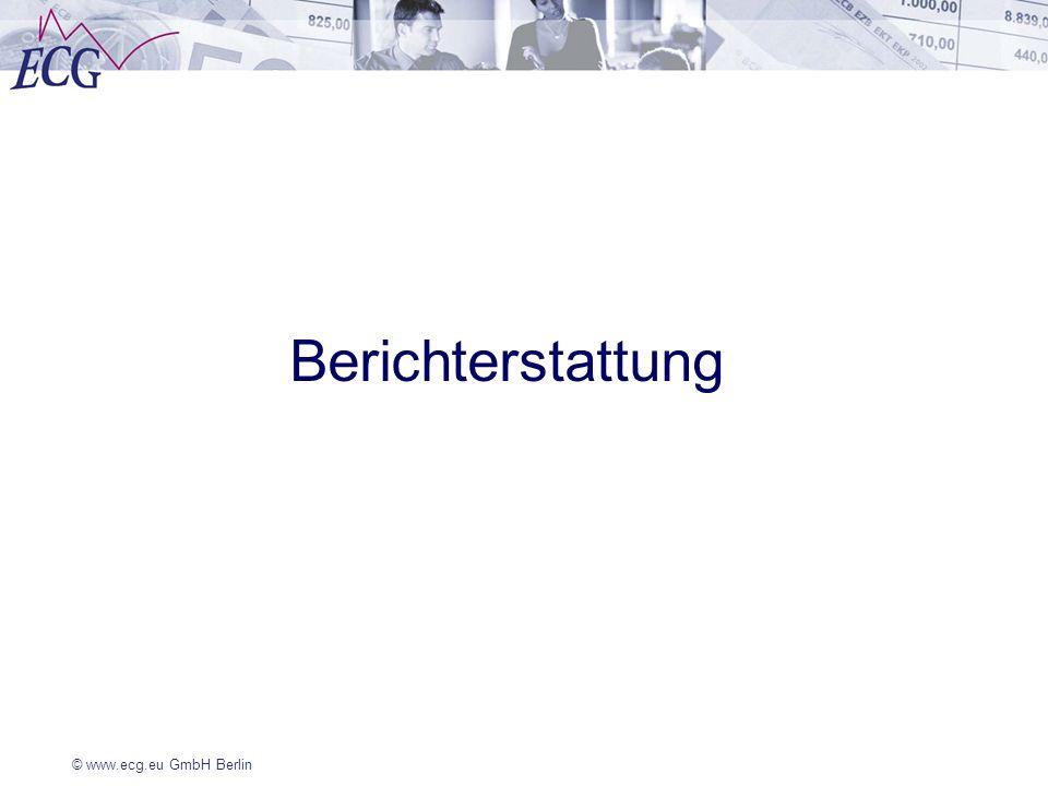© www.ecg.eu GmbH Berlin Berichterstattung