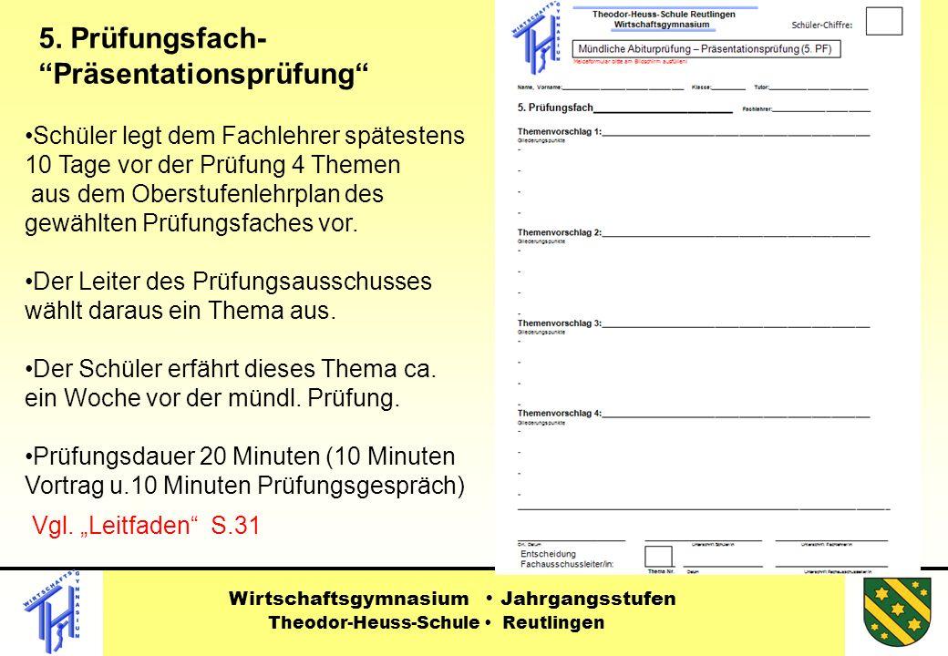Vgl.Leitfaden S.31 Wirtschaftsgymnasium Jahrgangsstufen Theodor-Heuss-Schule Reutlingen 5.