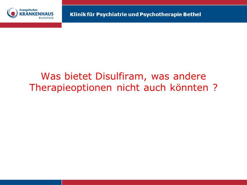 Klinik für Psychiatrie und Psychotherapie Bethel Kennen Sie die actio libera in causa .
