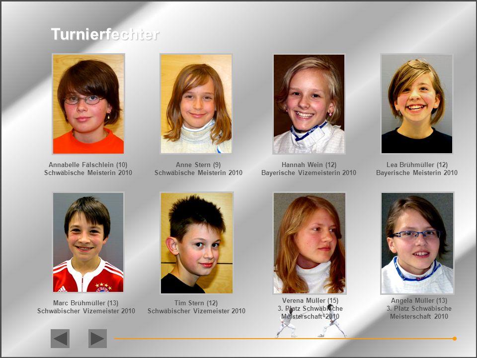 Leistungsträger Felix Klinger (16) 3. Platz Deutsche Meisterschaften / 2007 3. Platz Deutsche Meisterschaften / 2010 Bayerischer Meister bei den Junio