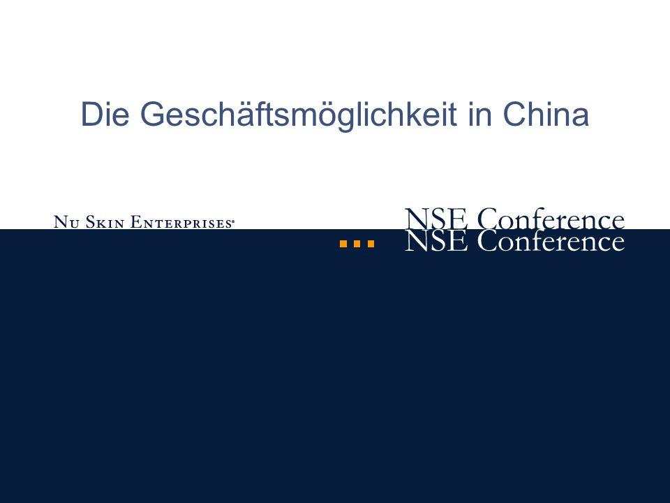 NSE Conference Die Geschäftsmöglichkeit in China