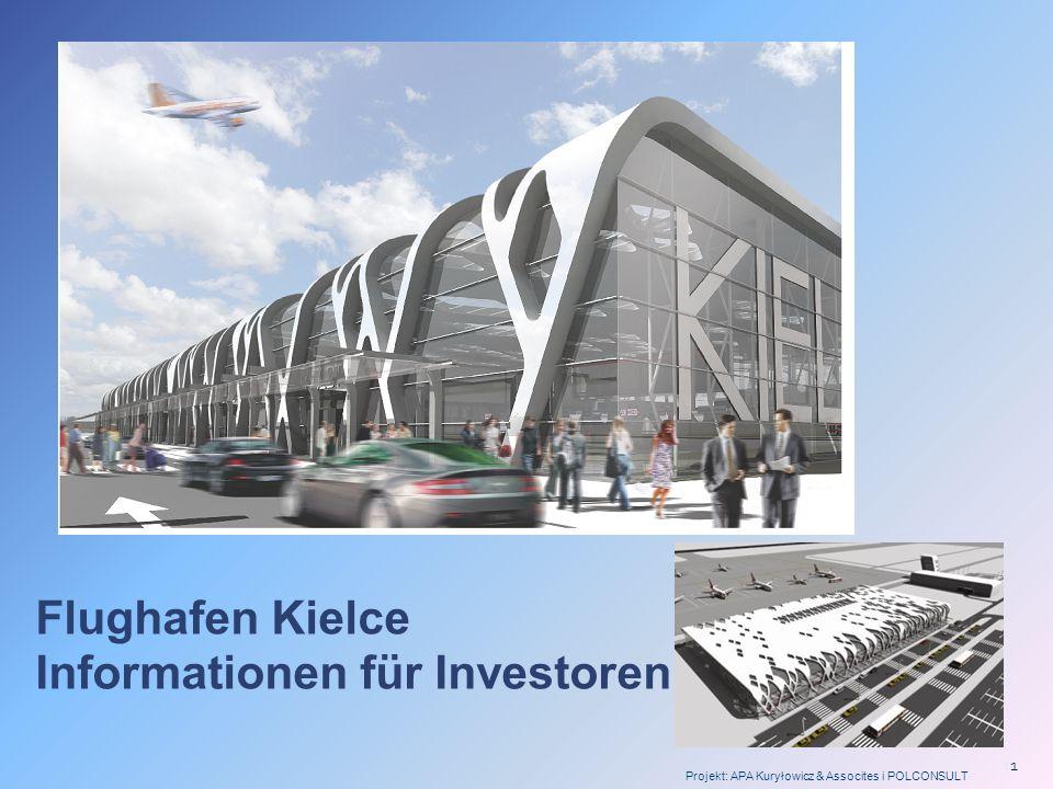 2 VORHANDENE FLUGHAFENINFRASTRUKTUR IN HEILIGKREUZ WOIWODSCHAFT Der bestehende Flughafen Masłów a.