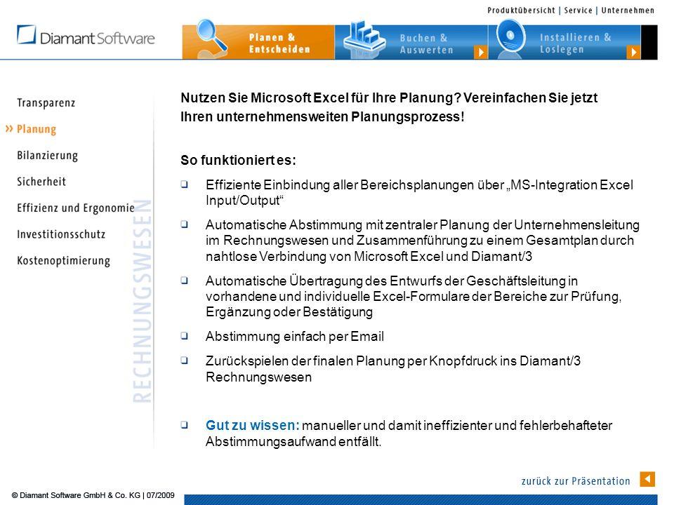 Nutzen Sie Microsoft Excel für Ihre Planung.