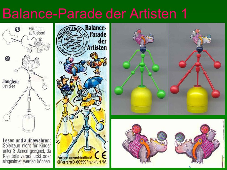 Balance-Parade der Artisten 1