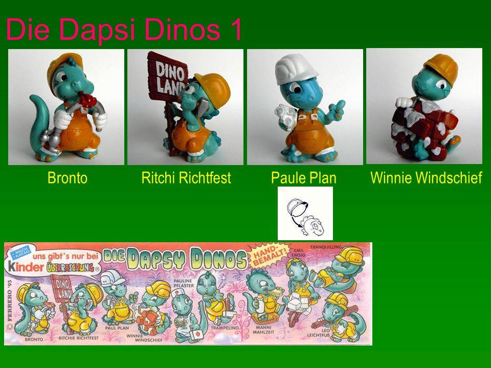 Die Dapsi Dinos 1 BrontoRitchi RichtfestPaule PlanWinnie Windschief