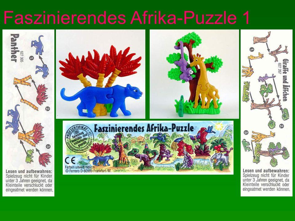 Faszinierendes Afrika-Puzzle 2