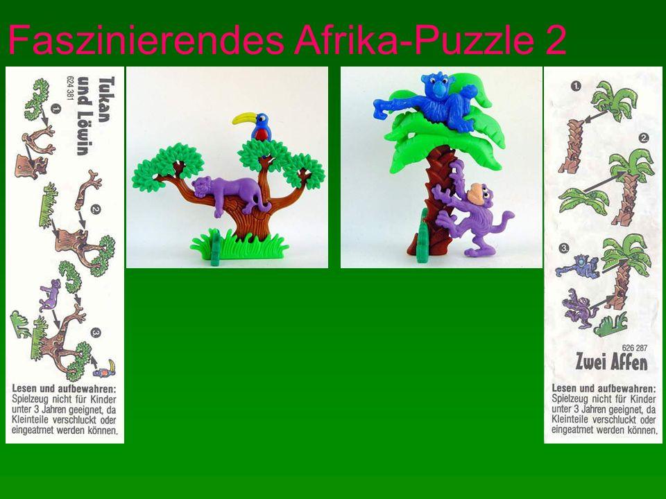 Faszinierendes Afrika-Puzzle 3