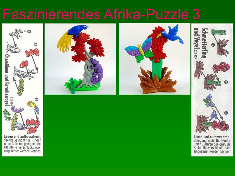 Faszinierendes Afrika-Puzzle 4