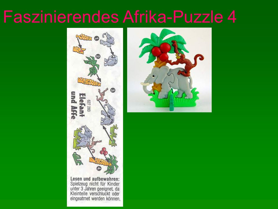 Faszinierendes Afrika-Puzzle 4