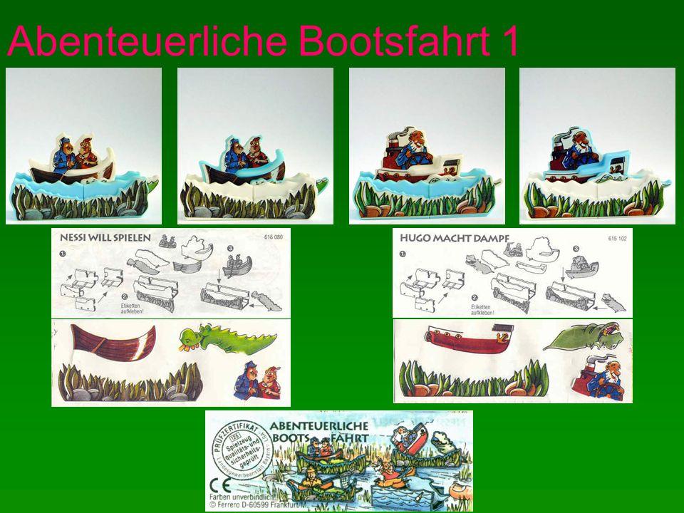 Abenteuerliche Bootsfahrt 1