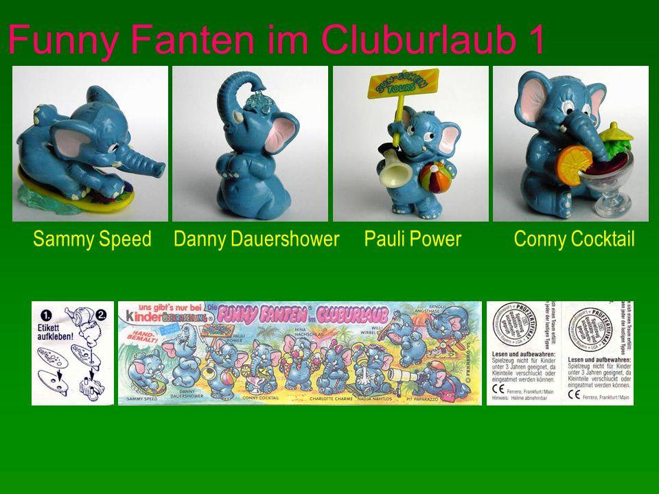 Funny Fanten im Cluburlaub 1 Sammy SpeedDanny DauershowerPauli PowerConny Cocktail
