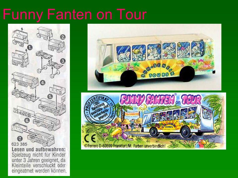 Funny Fanten on Tour