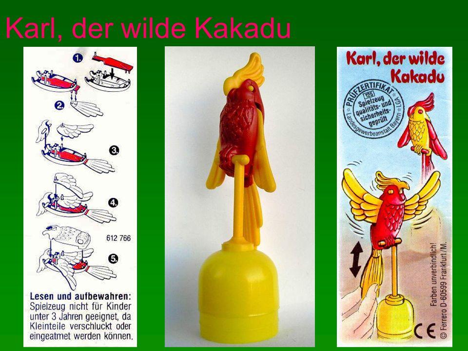 Karl, der wilde Kakadu