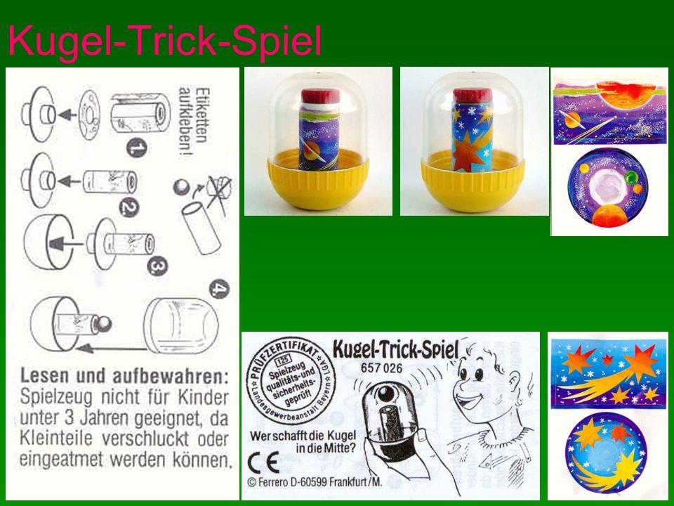 Kugel-Trick-Spiel