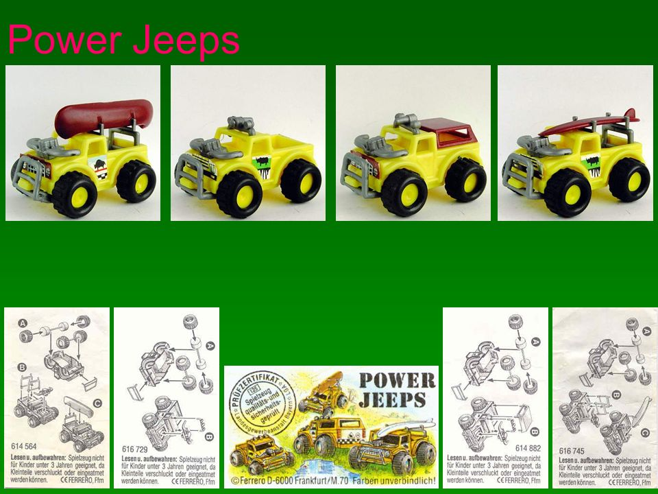 Power Jeeps