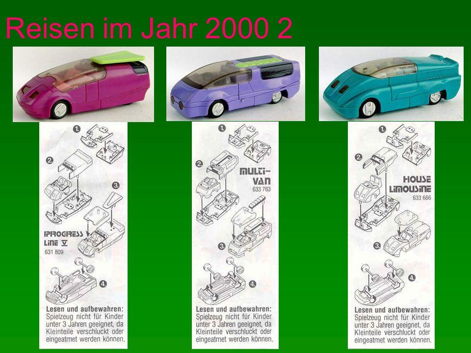 Reisen im Jahr 2000 2